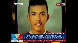 BP: Brgy. tanod, nagtapos bilang Cum Laude sa kursong Civil Engineering