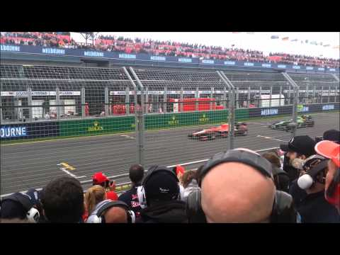 F1 2013 vs 2014 sound comparison - Melbourne