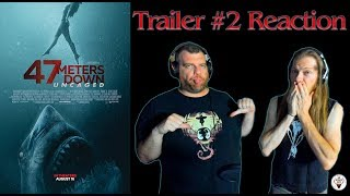 """""""47 Meters Down: Uncaged"""" 2019 Trailer #2 Reaction - The Horror Show"""