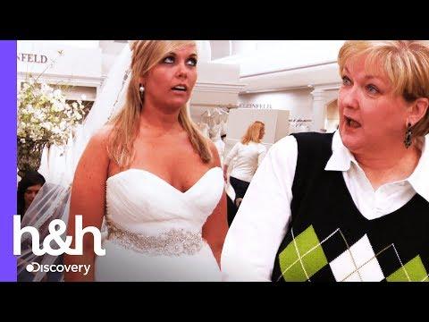 Novia busca impresionar con un vestido diferente   Vestido de novia   Discovery H&H