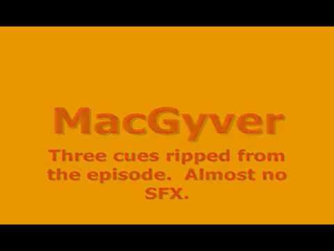 "MacGyver: ""The Negotiator"" (score suite; Dennis McCarthy)"