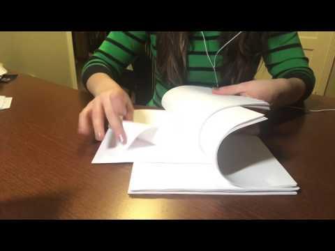 ASMR Paper Sorting/Paper Tearing/Page Turning Pt.2