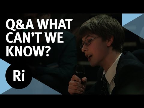 Q&A - What We Cannot Know - with Marcus du Sautoy