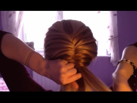 How To Do A Fishtail Braid On Yourself...