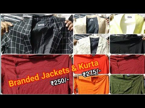 Jacket Wholesale Market in Mumbai | Mens Kurta Wholesale Market in Mumbai | Mens Kurta & Jacket