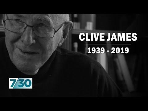 Clive James - writer, broadcaster, poet - dead at 80 | 7.30