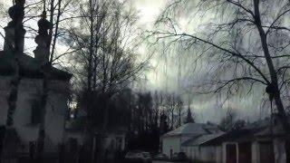 Суздаль из окна авто - декабрь 2015