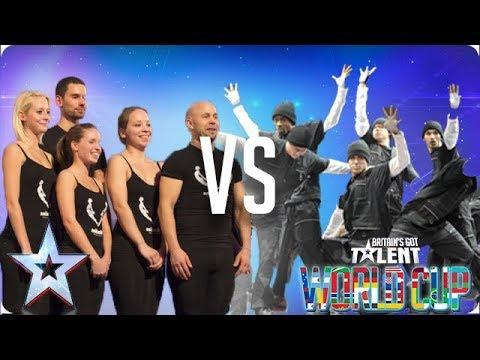 QUARTER FINALS: Attraction vs Diversity   Britain's Got Talent World Cup 2018
