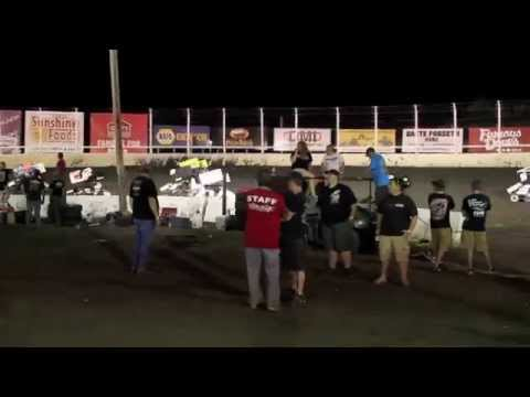 Huset's Speedway Micro Sprint A-Main July 20, 2014