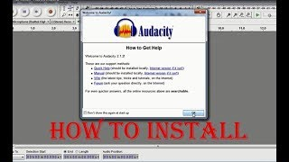 How To Install and Crack Audacity Full Version-FREE DOWNLOAD