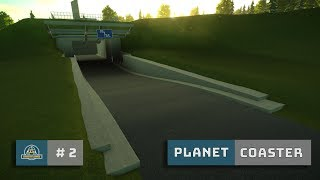 Planet Coaster: Ep. 2: Tunnel Detailing