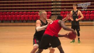 Perth Wildcats - Casey Prather & Hugh Greenwood's First Training