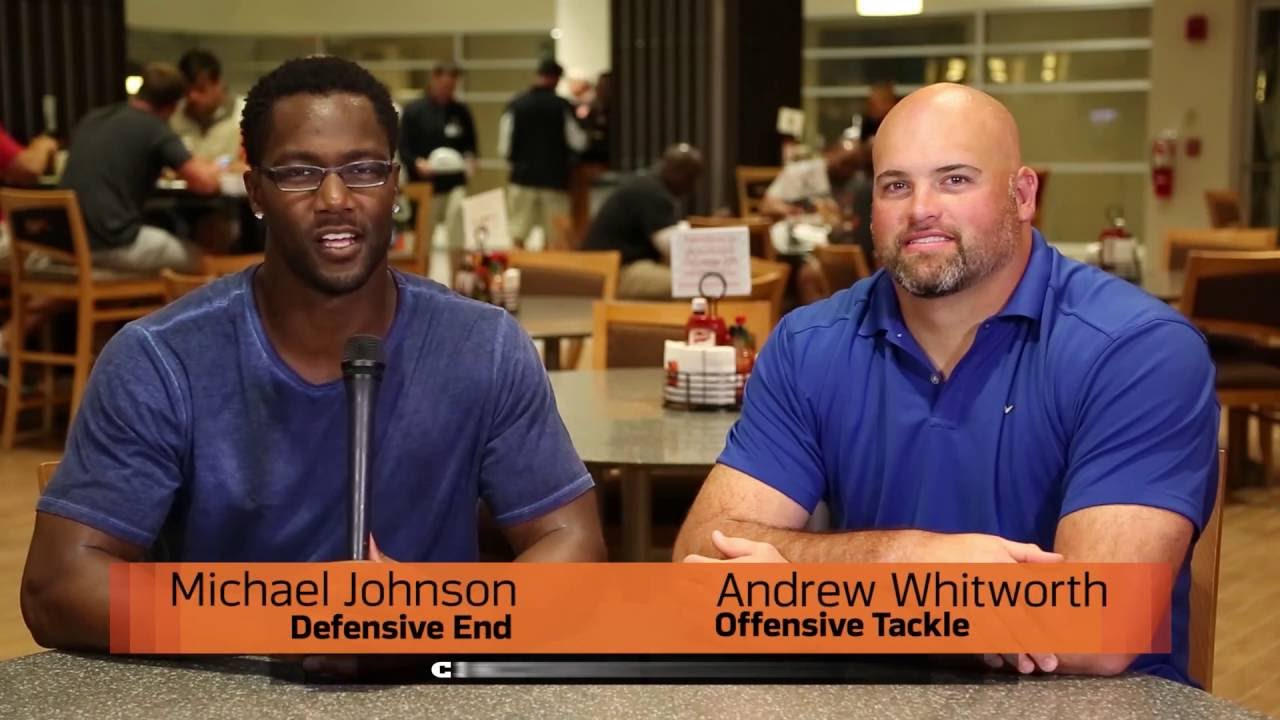 Build a Bengal Michael Johnson & Andrew Whitworth