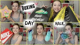 MASSIVE LUSH BOXING DAY HAUL! and some other stuff too!