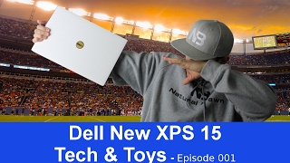 Dell New Xps 15 (2017 Model) Laptop - i7 7700HQ Kaby Lake - Unboxing
