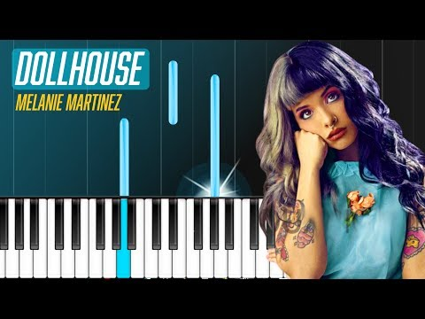 "Melanie Martinez - ""Dollhouse"" Piano Tutorial - Chords - How To Play - Cover"