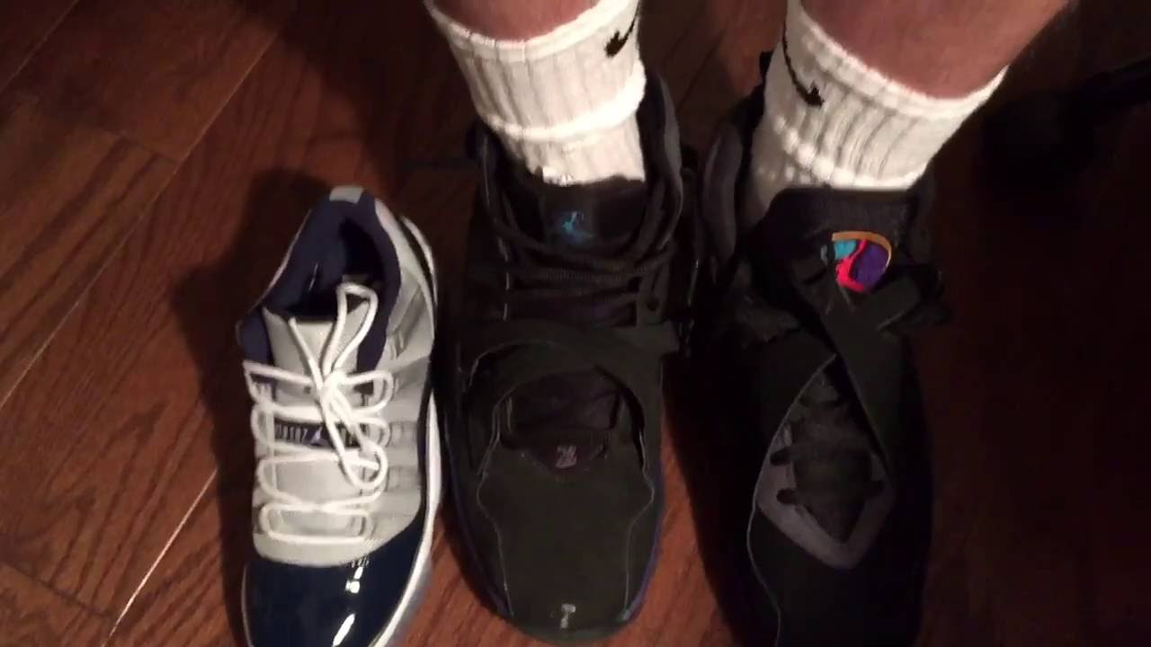 e71f2f541e8 Nike Outlet Jordan 8 vs 8.0 Aqua - YouTube