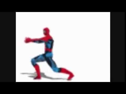 Рисовать смешные, человек паук танцующий гифка