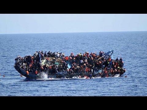 Новая трагедия с мигрантами в Средиземном море