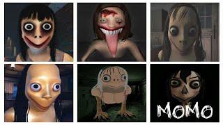 Momo Caught Battle - The Momo Game, Horror of Momo, Escape from Momo, Momo Horror Game, Mother Bird