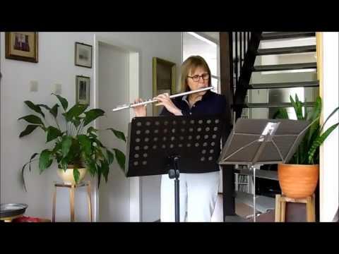 Pachelbel's Canon in F Major, flute