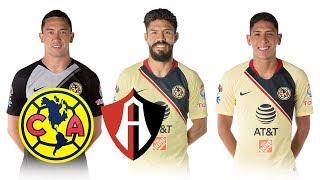 POSIBLE ALINEACIÓN DEL AMÉRICA VS ATLAS | J2 CL19
