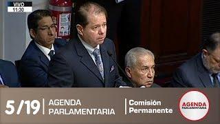 Sesión Comisión Permanente 5/19 (28/05/19)