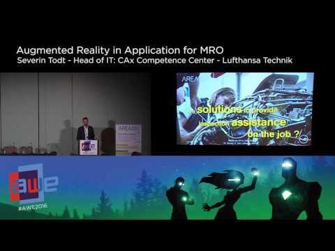 Severin Todt (Lufthansa Technik) AR in Application for MRO