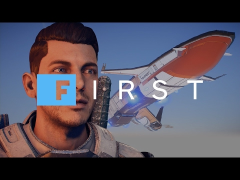 Mass Effect: Andromeda - Touring the Tempest and Meeting the Crew - IGN First
