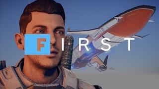mass effect andromeda touring the tempest and meeting the crew ign first