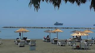 Кипр  Лимассол  Отдых  Пляж   Cyprus Limassol  Beach Vacation