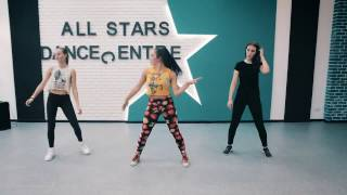 �������� ���� Монатик–Кружит.Jazz Funk by Маргарита Бабкина.All Stars Junior Workshop 10.2016 ������