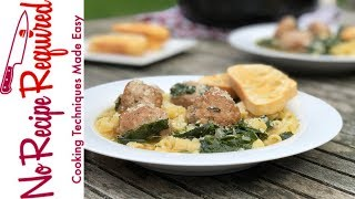 Review of Home Chef's Italian Wedding Soup with Pork Meatballs - NoRecipeRequired.com