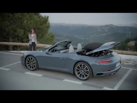 Porsche 911 Opening Closing Youtube