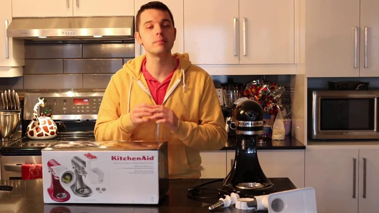 test blogueur de l ensemble d accessoires pour batteur sur socle de kitchenaid