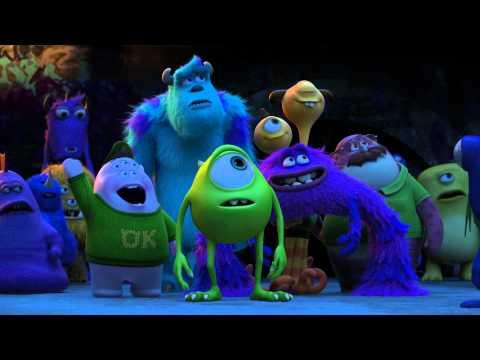 DIE MONSTER UNI - Offizieller Deutscher Trailer 5 - Disney / Pixar