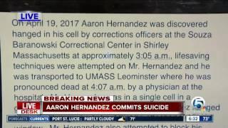 Former NFL star Aaron Hernandez commits suicide
