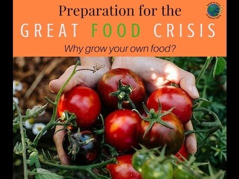 Preparation For The Great Food Crisis: Why Grow Your Own Food? PT.4