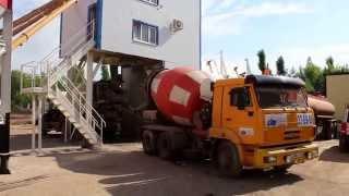 Бетонный завод МЕКА MEKAMIX 60 COMPACT Будни(Дозирование и смешивание всех ингредиентов для готовой смеси на любой модели бетонного завода МЕКА контро..., 2015-05-29T12:54:15.000Z)