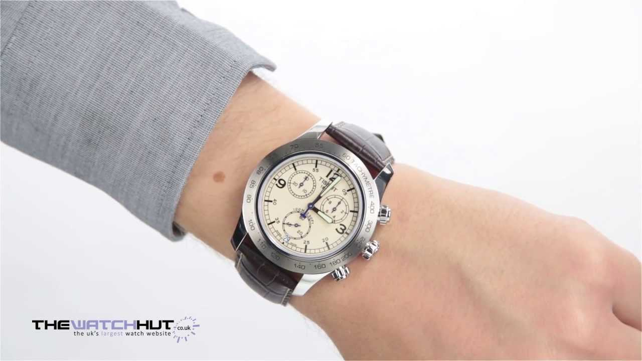 Tissot Gents V8 Chronograph Watch T36131672 Youtube