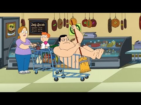 American Dad - Stan naked