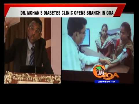 Dr. MOHAN DIABETES CLINIC OPENS BRANCH IN GOA