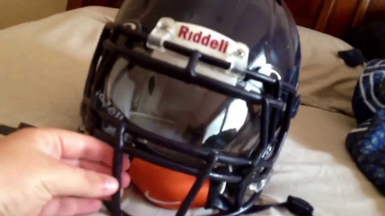Oakley Visor Football Helmet
