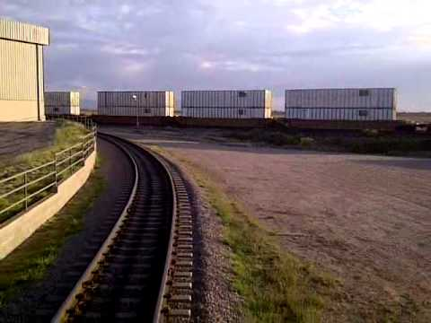 GP28 Cab Ride Along Switching Railroad October 2011