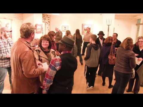 Willicey Tynes - Art Opening at the Paramount Theatre Gallery - March 2016