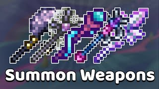 Terraria - All Suṁmon Weapons Tier List & Guide