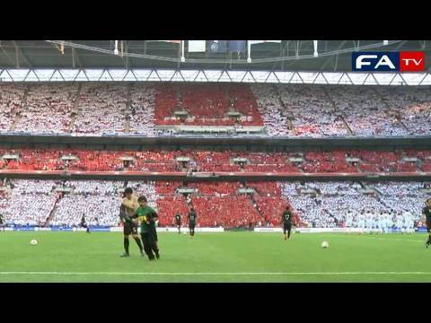 Wembley world record for the largest St George Cross