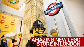 London's first Lego store is the biggest in the world