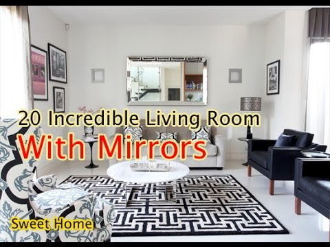 incredible living rooms | Living Room 20 Incredible Living Room With Mirror - YouTube