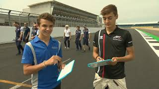 Lando Norris and George Russell [Midterm Report Card] F2 season 2018